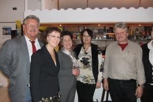 Katrin Altpeter (3.von links) bei der AsF